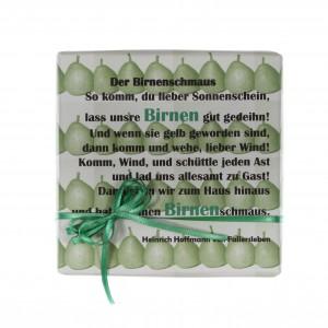 Birne-grün