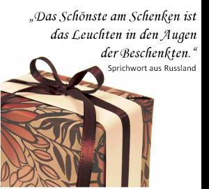 Schenken-Zitat