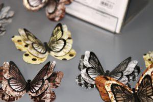 Deko-Schmetterlinge-Vintage