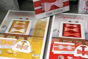 Papierschleifen-Gelb-Rot