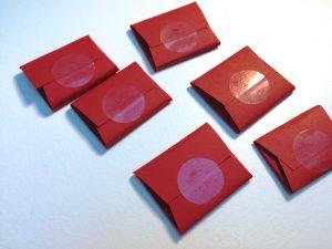 Geldpäckchen-Rückseite