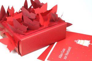 Geschenk-Schmetterlinge