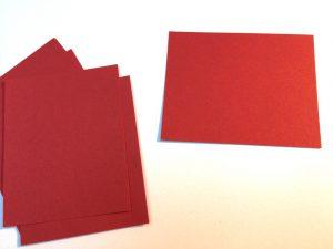 Rotes-Tonzeichenpapier