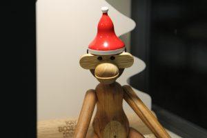 Kay-Bojesen-Affe-Weihnachten