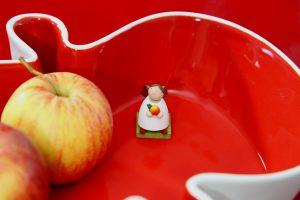 Apfel-Servierschale-Schutzengel