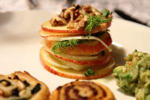 Teller-Apfel-Fenchel-Salat