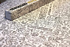 XXL-Keith-Haring-Malposter