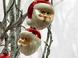 Weihnachtskugel-Klaus