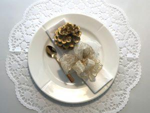 Teller-Schleife-Löffel