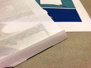 Geschenkpapier-Sprechblasen-Blau-1