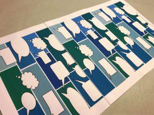Geschenkpapier-Sprechblasen-Blau-2