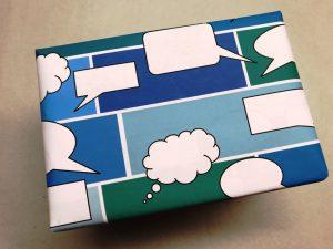 Geschenkpapier-Sprechblasen-Blau-4