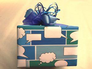 Geschenkpapier-Sprechblasen-Blau-5