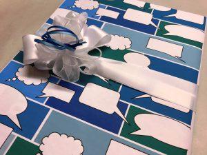 Geschenkpapier-Sprechblasen-Blau-6