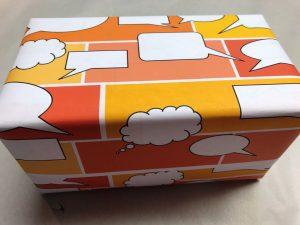 Geschenkpapier-Sprechblasen-Gelb-3