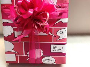 Geschenkpapier-Sprechblasen-Pink-5