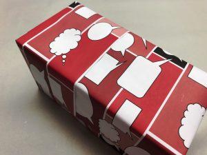 Geschenkpapier-Sprechblasen-Rot-4
