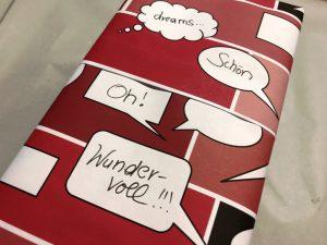 Geschenkpapier-Sprechblasen-Rot-5