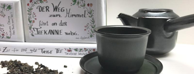 Feiner Teezauber – Geschenkverpackung Leaves to tea