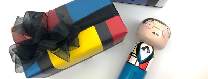 Geschenkverpackung Piet