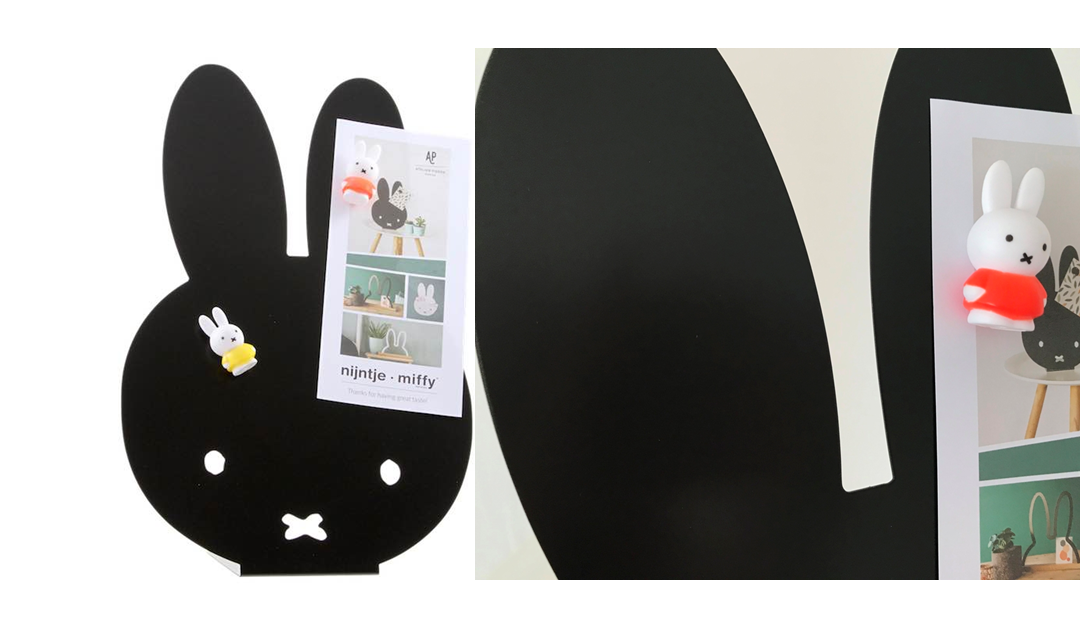 So sweet: Miffy-Magnetwand!