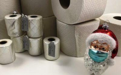 Alle reden von Toilettenpapier & Santa trägt Maske