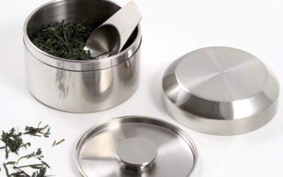 Edle Aufbewahrung für Tee