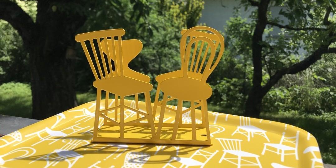 Bitte setzen! – Neue Serie Chairs von Bengt & Lotta